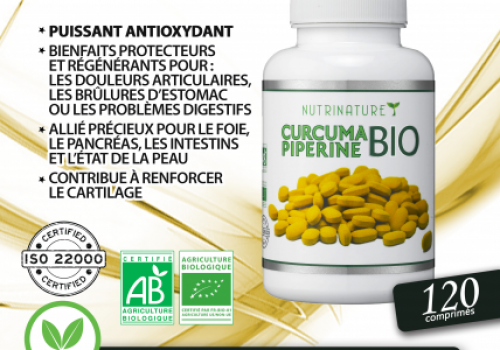 Curcuma + Pipérine =…